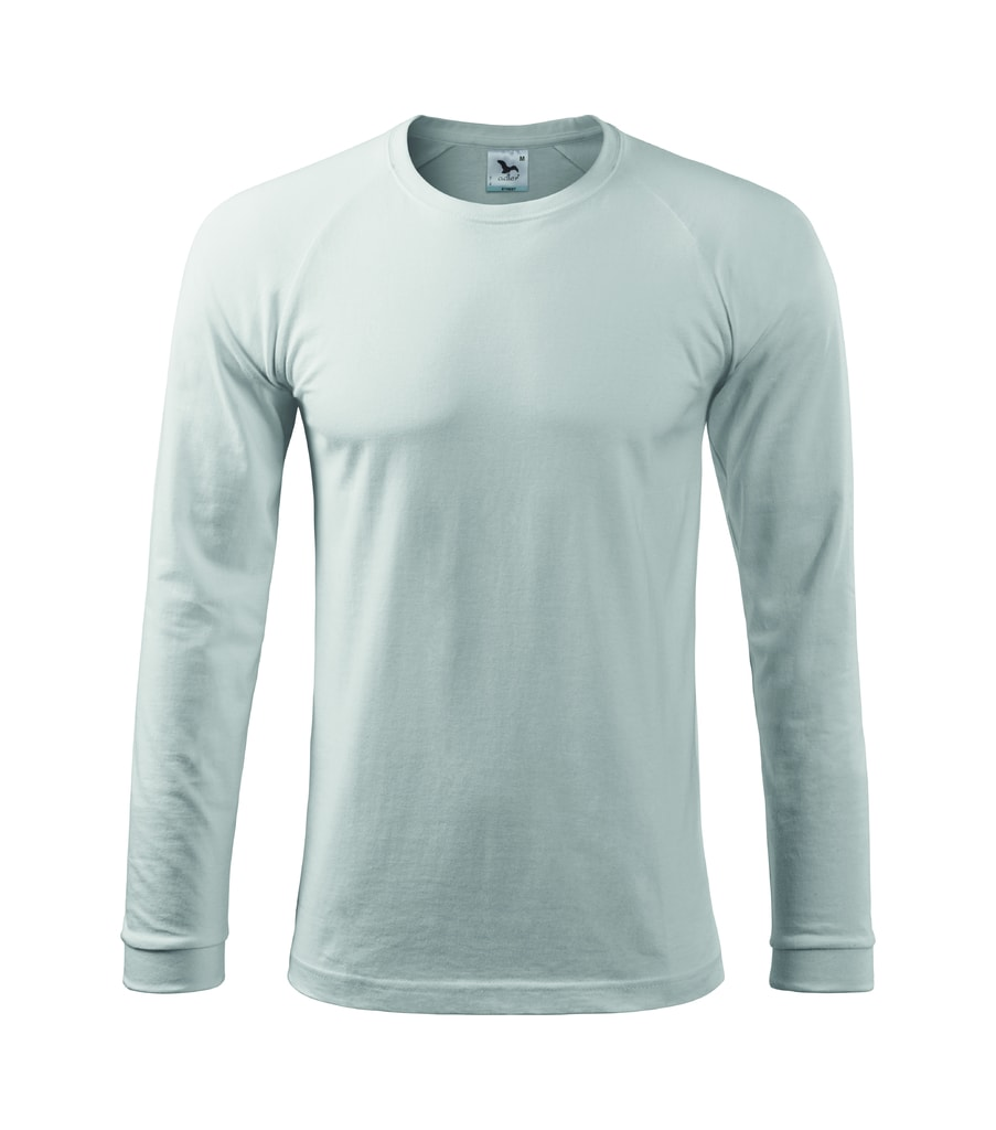 Pánské tričko s dlouhým rukávem STREET - Bílá | M