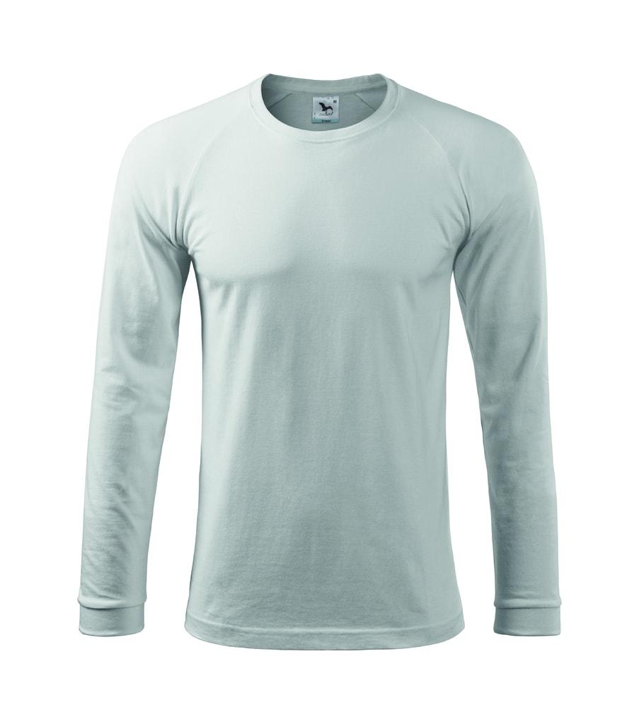 Pánské tričko s dlouhým rukávem STREET - Bílá | XXL