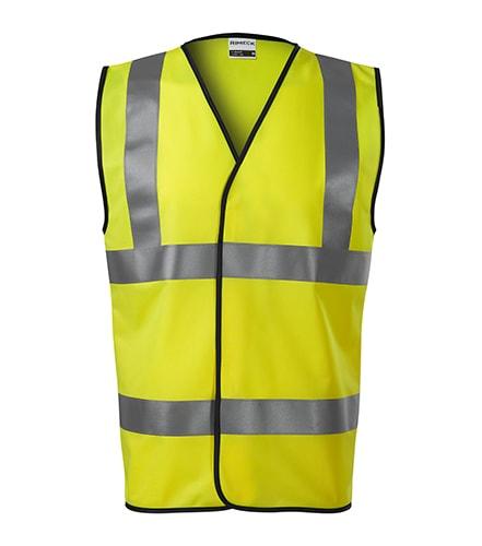 Bezpečnostní vesta HV Bright - Reflexní žlutá | XXL