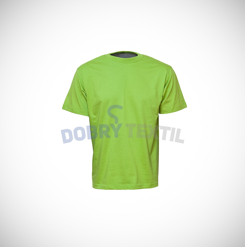 Reklamní tričko CLASSIC - Zelená kiwi | XXL