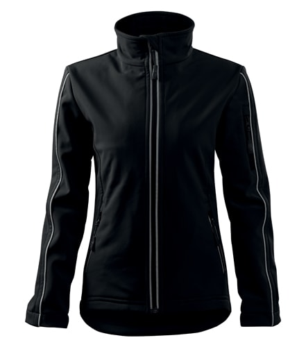 Dámská softshellová bunda Jacket - Černá | XL