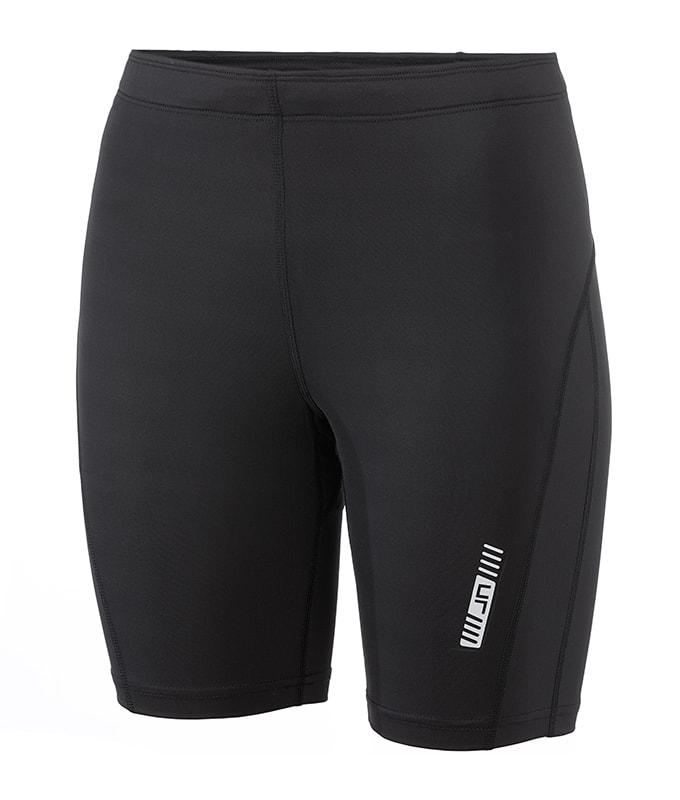 James & Nicholson Dámske bežecké šortky JN477 - Černá / černá | M
