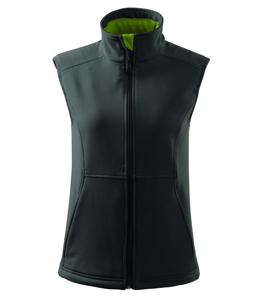Dámská softshellová vesta Vision - Ocelově šedá   XL