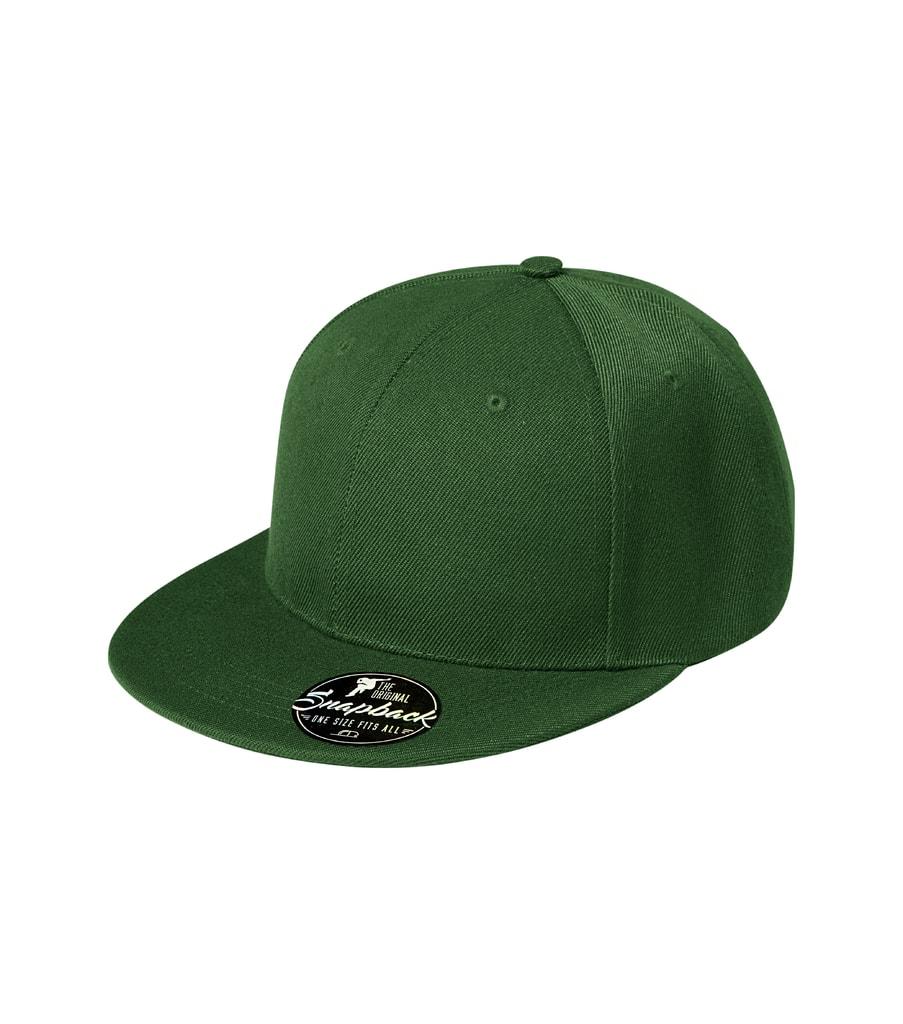 Kšiltovka Rap 6P - Lahvově zelená | uni