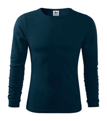 Pánské tričko s dlouhým rukávem Fit-T Long Sleeve - Námořní modrá | S