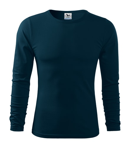 Pánské tričko s dlouhým rukávem Fit-T Long Sleeve - Námořní modrá | XXL