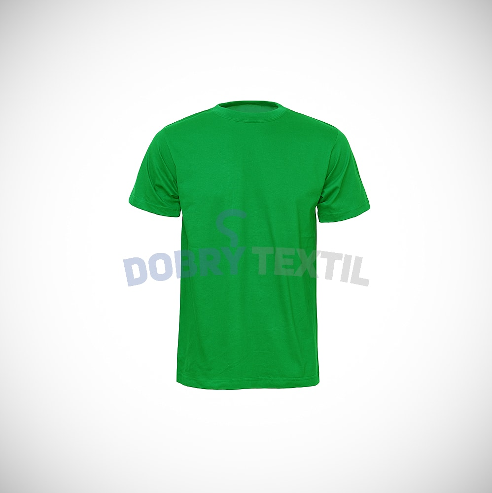 Reklamní tričko CLASSIC - Středně zelená | XXL