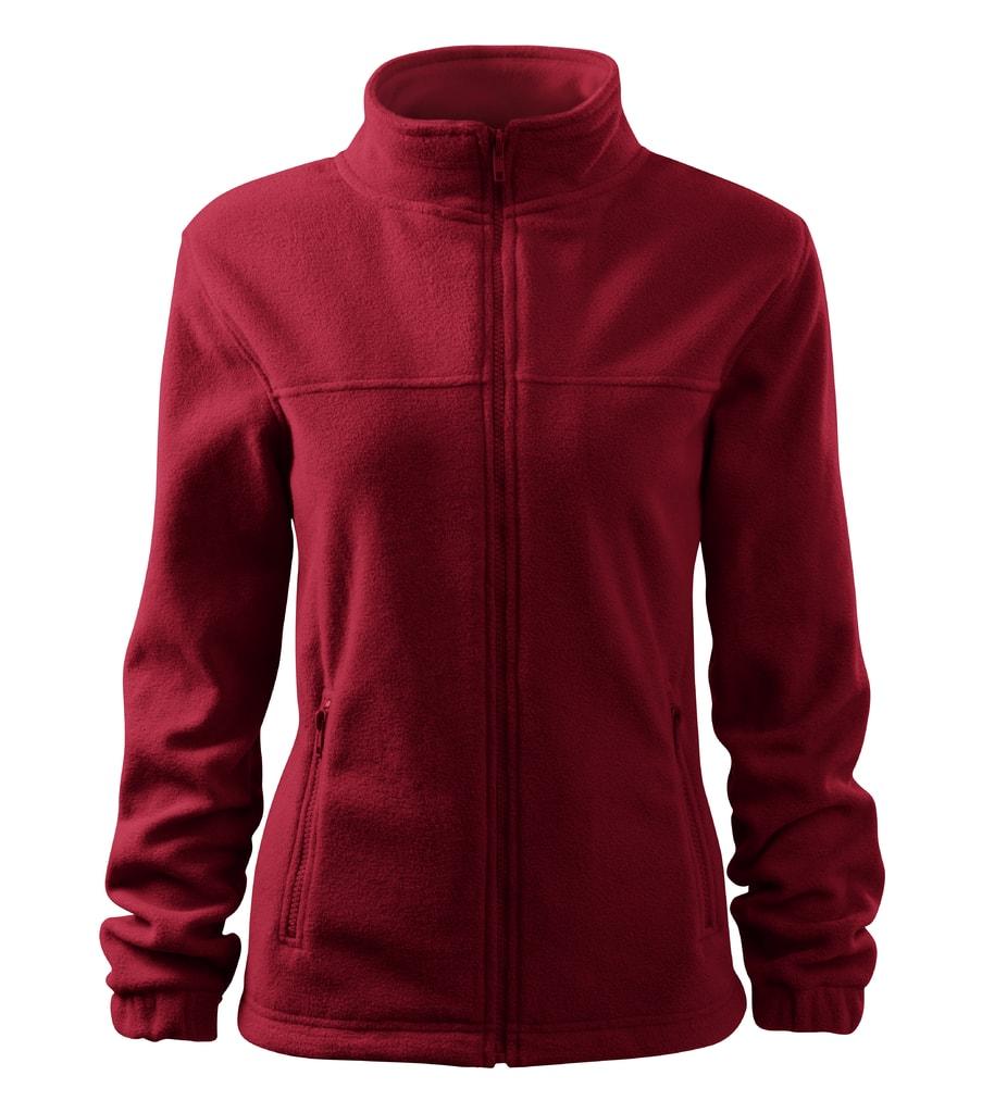 Dámská fleecová mikina Jacket - Marlboro červená | L