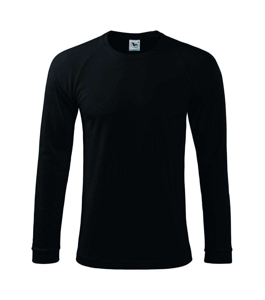 Pánské tričko s dlouhým rukávem Street LS - Černá | XL