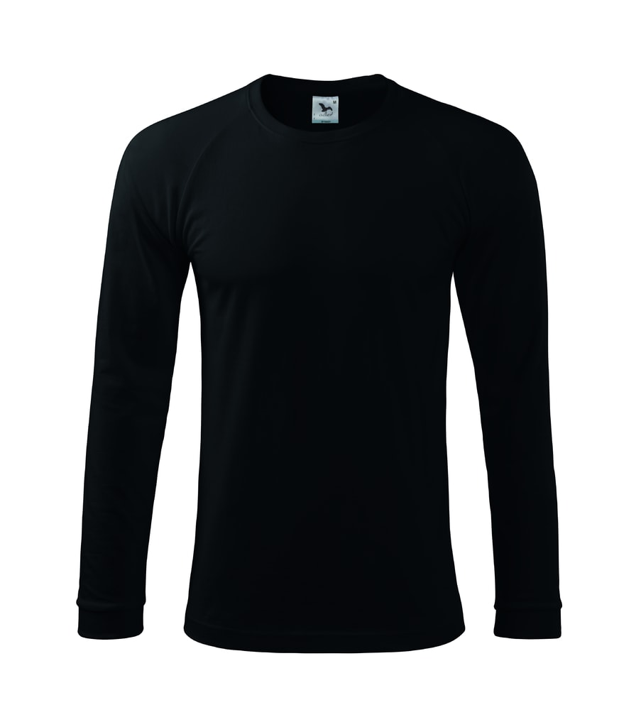 Pánské tričko s dlouhým rukávem Street LS - Černá | XXL