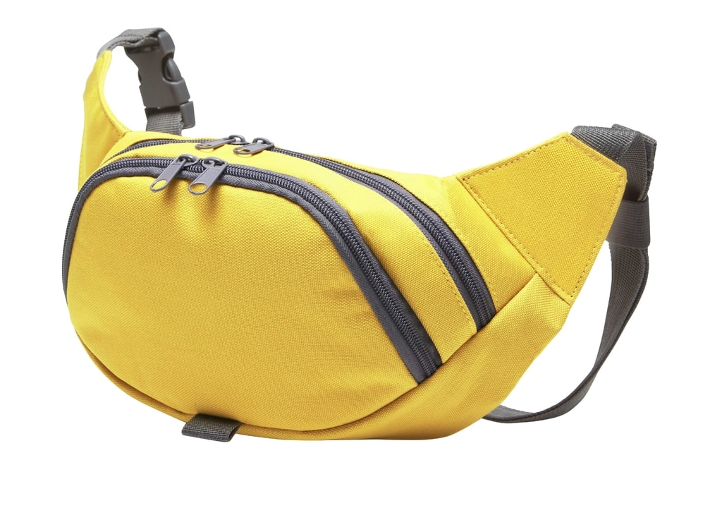 Sportovní ledvinka SOLUTION - Žlutá