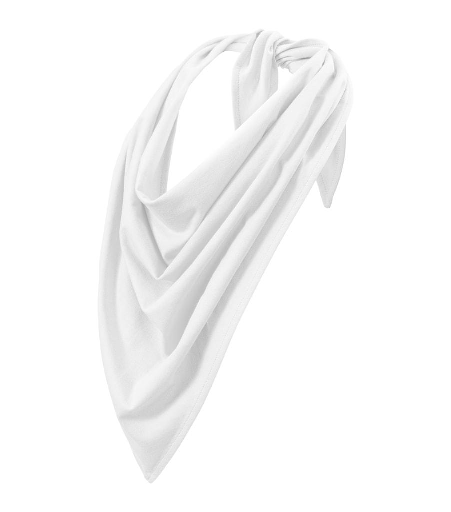 Bavlněný šátek Fancy Adler - Bílá | uni