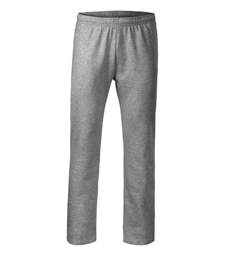 Pánské/dětské tepláky Comfort - Tmavě šedý melír | 158 (12 let)