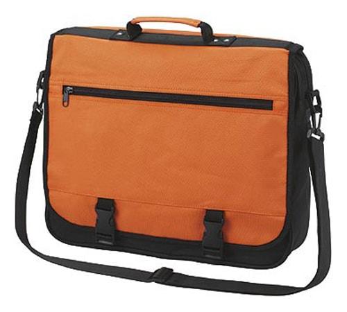 Velká taška přes rameno BUSINESS - Oranžová