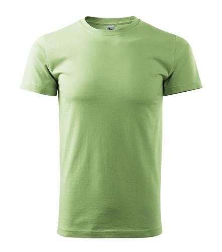 Pánské tričko HEAVY - Trávově zelená | XXL