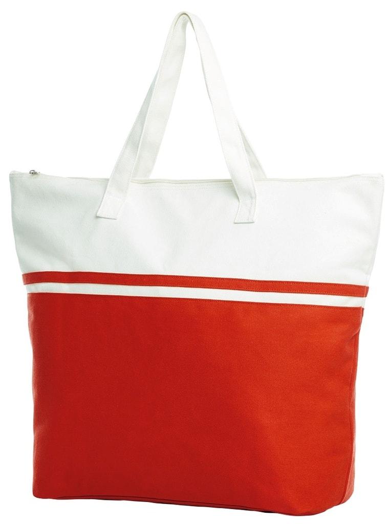 Velká plážová taška SOUL - Červená