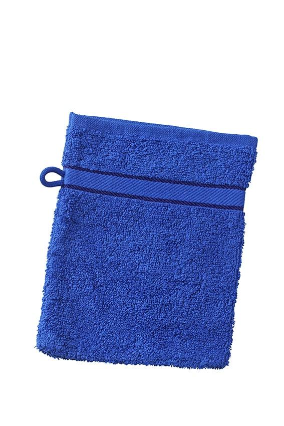 Myrtle Beach Umývacia froté žinka MB435 - Tmavá královská modrá | 15 x 21 cm