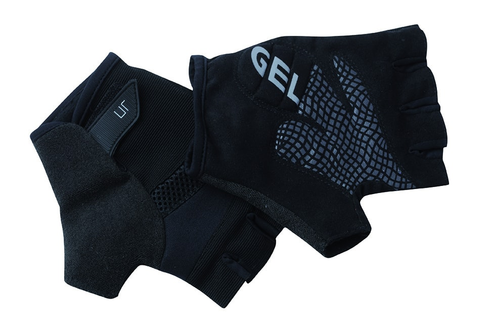 Letní cyklistické rukavice JN336 - Černá | M