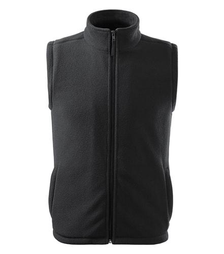 Fleecová vesta Adler - Ebony gray | XS