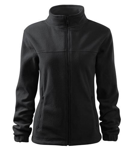 Dámská fleecová mikina Jacket - Ebony gray | XXL
