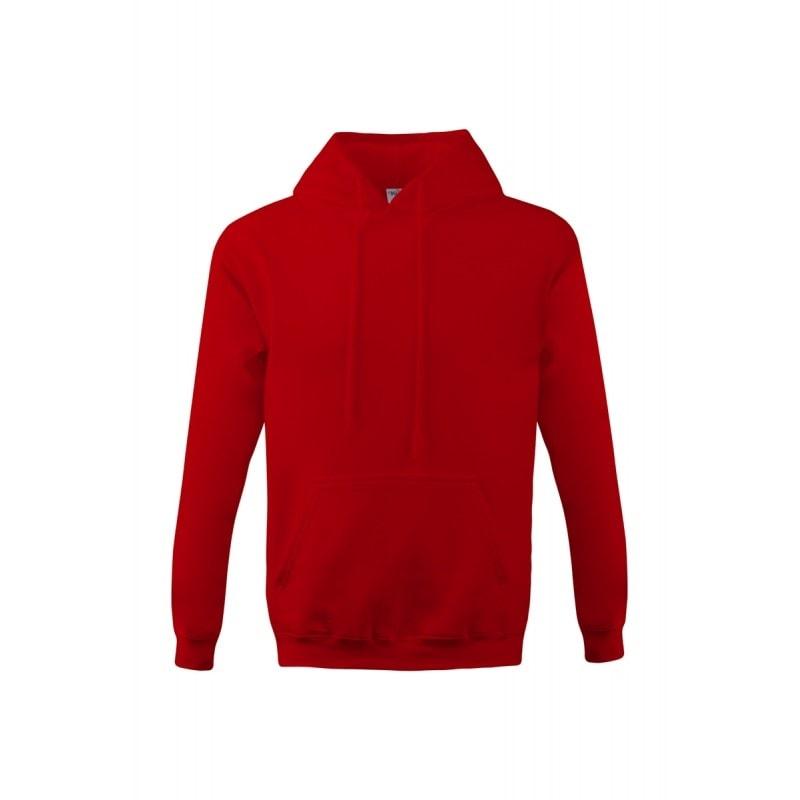 Mikina s kapucí klokanka NEW - Červená | XL
