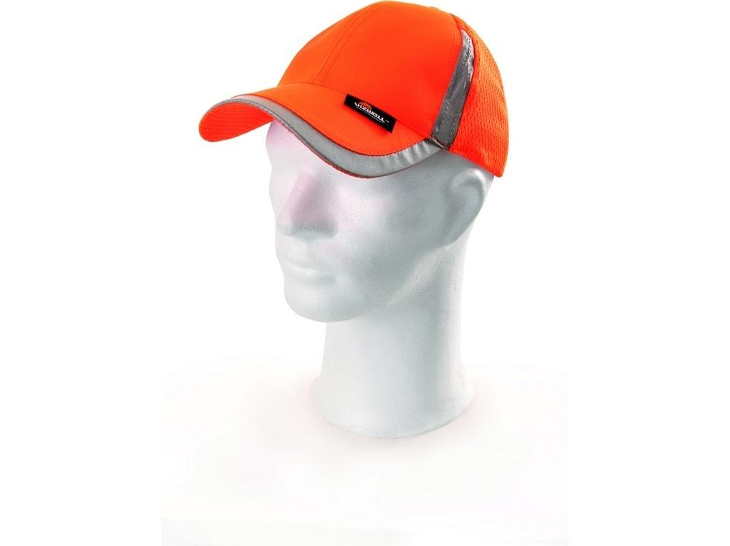 Reflexní kšiltovka - Oranžová | uni