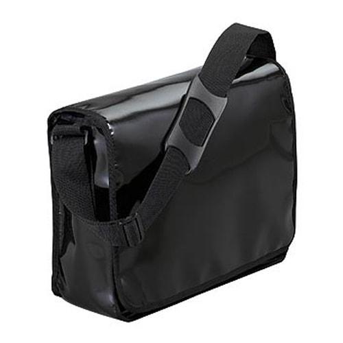 Plachtová taška přes rameno ECO - Černá