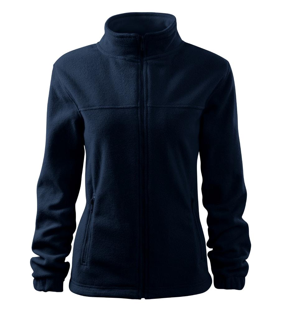 Dámská fleecová mikina Jacket - Námořní modrá | XS