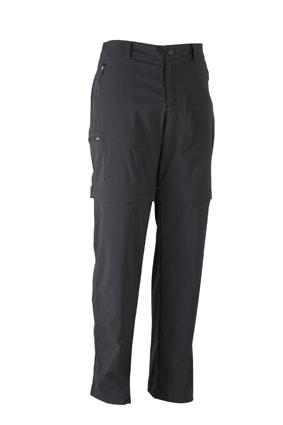 Pánské outdoorové kalhoty 2v1 JN583 - Černá | XXL