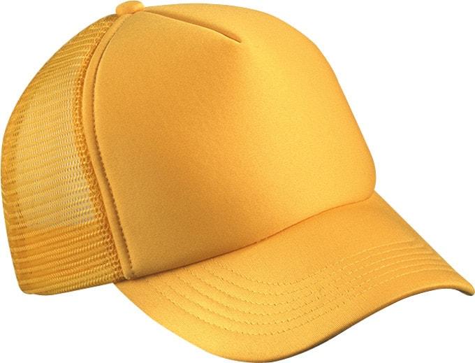 5 panelová kšiltovka MB070 - Zlatě žlutá | uni