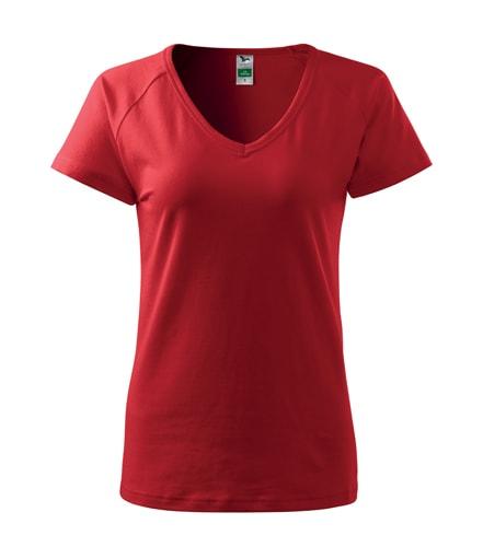 Dámské tričko Dream - Červená | M