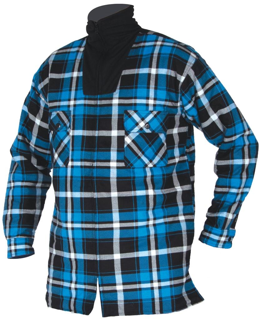 Pánská zimní flanelová košile - S