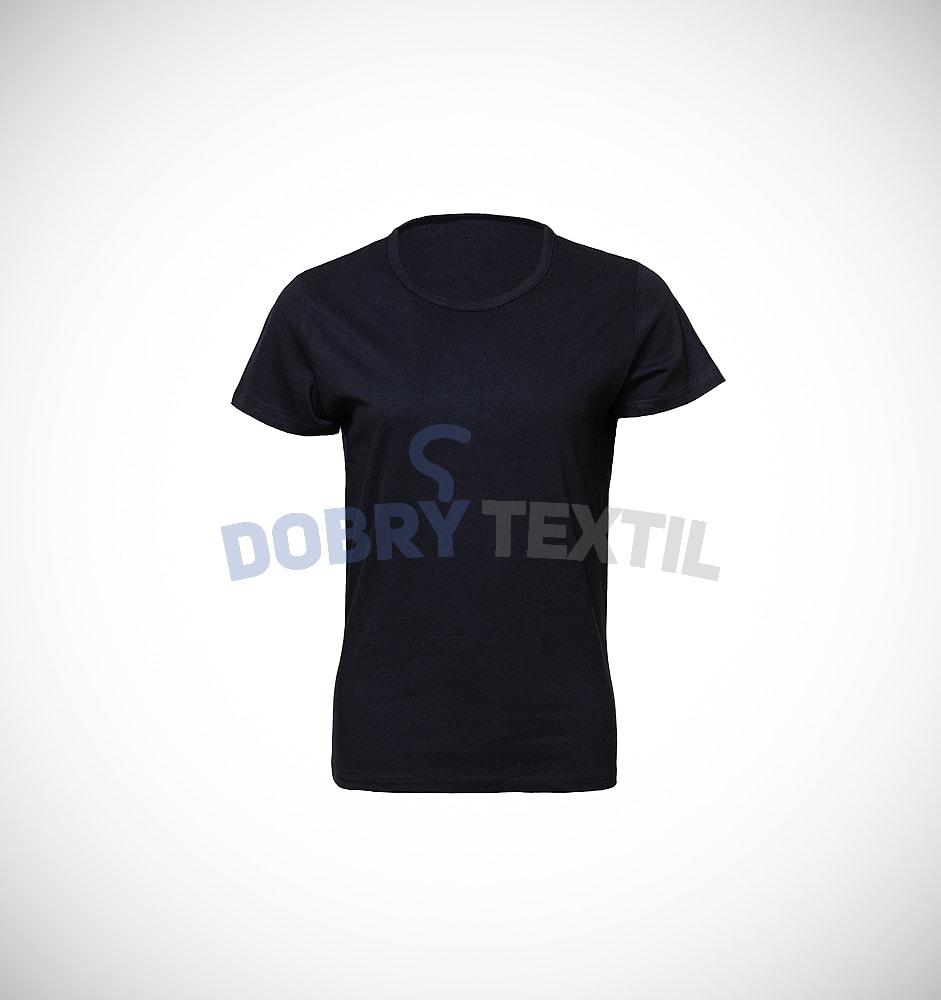 Dámské tričko SLIM - Černá | XL