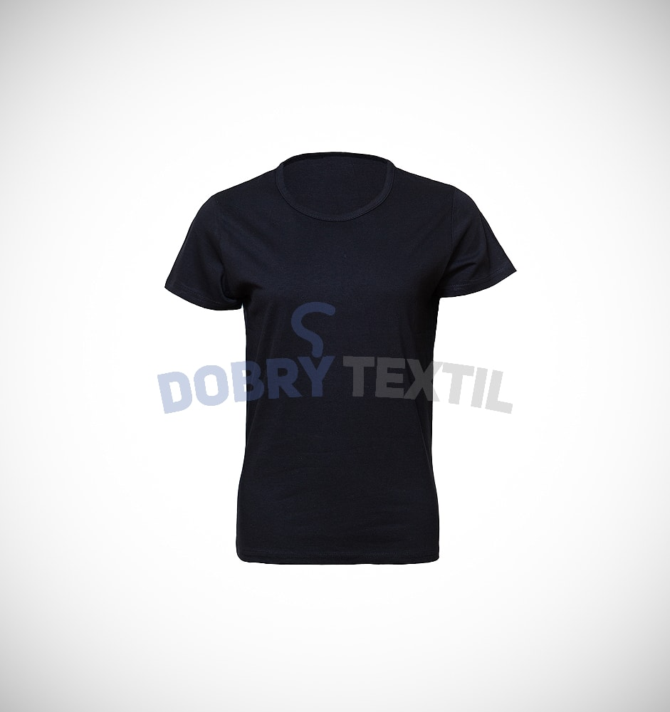 Dámské tričko SLIM - Černá | XXL
