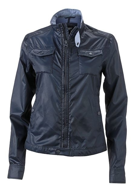 Dámská lehká bunda Travel JN1095 - Tmavě modrá | XXL