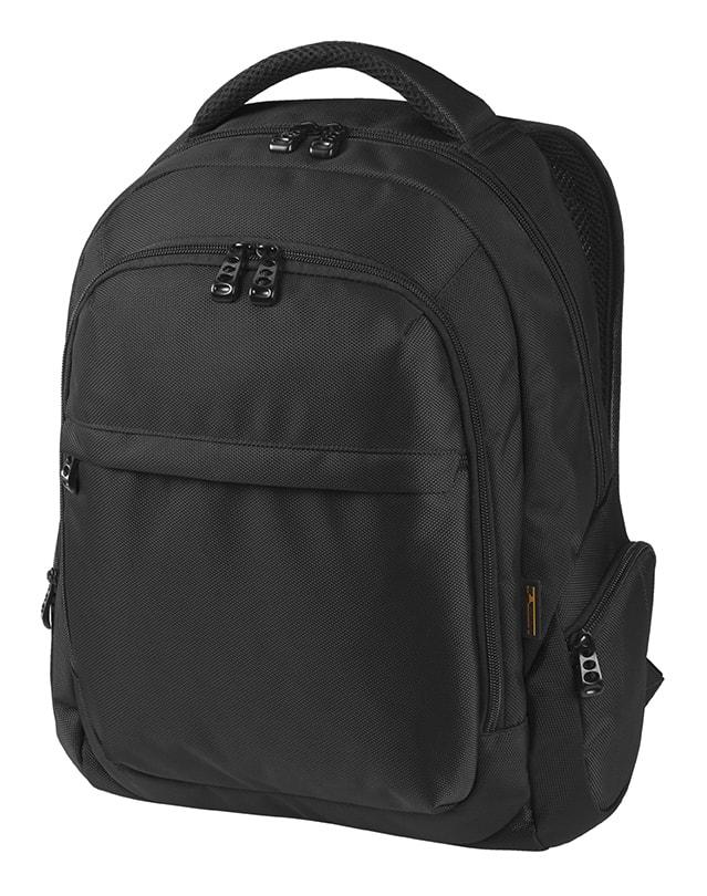 Stylový batoh na notebook MISSION - Černá 98c8823ba4