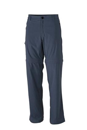 Pánské outdoorové kalhoty 2v1 JN583 - Tmavě šedá | S