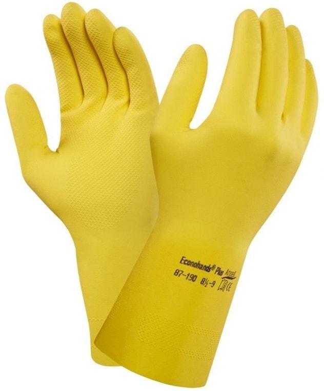 Latexové rukavice ANSELL ECONOHANDS PLUS - 10 745b3cfd21