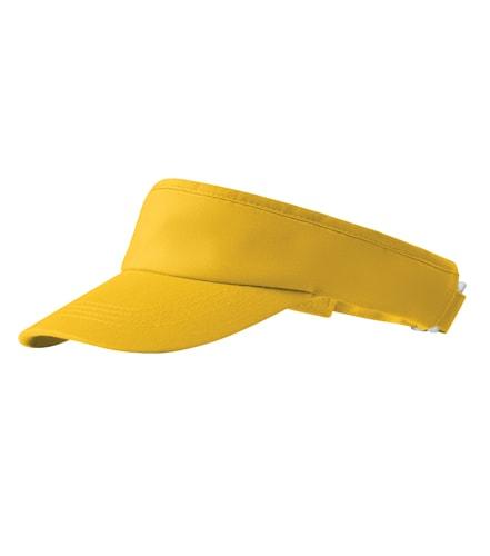 Sportovní kšilt Sunvisor Adler - Žlutá | uni