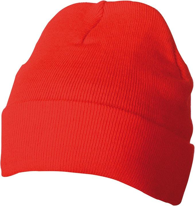Myrtle Beach Zimná pletená čiapka Thinsulate MB7551 - Červená