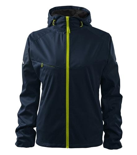 Lehká dámská softshellová bunda COOL - Námořní modrá   S
