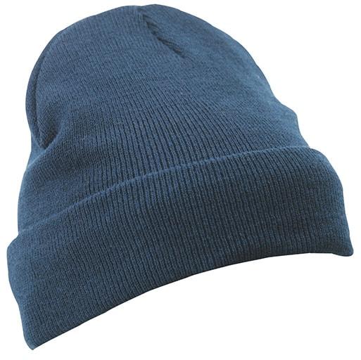 Zimní pletená čepice Thinsulate MB7551 - Tmavě modrá
