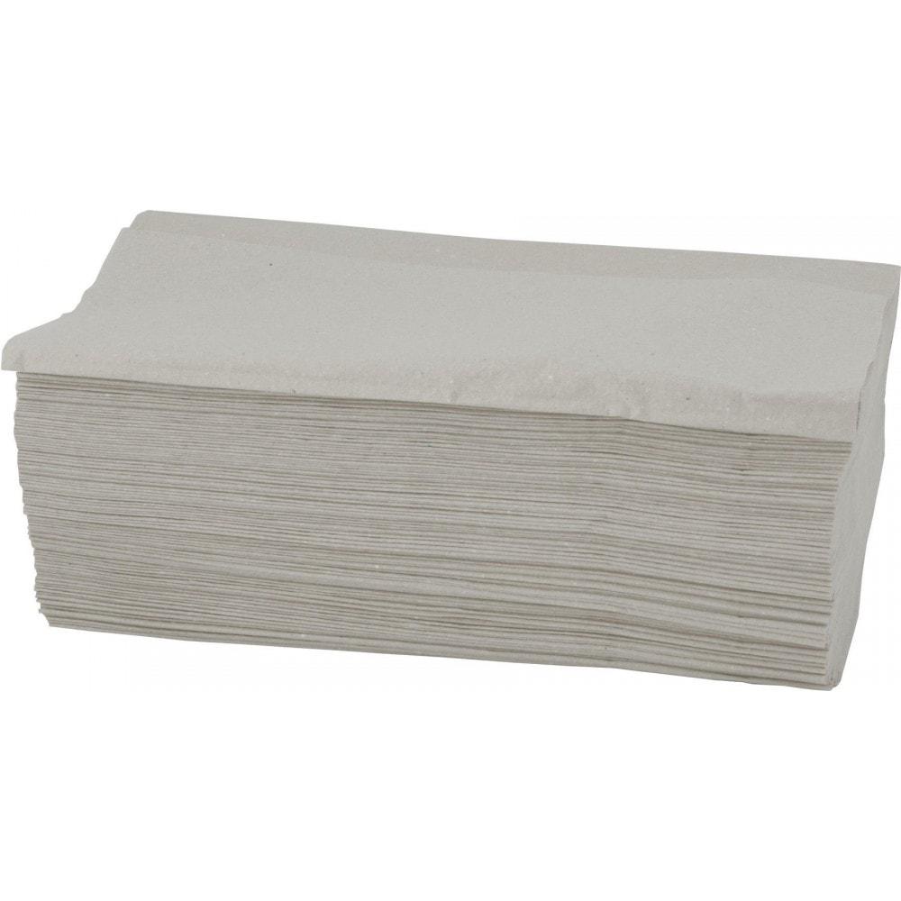 Skládané papírové ručníky - šedá