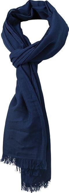 Lehká šála Summer Breeze MB6569 - Tmavě modrá | 190 x 77 cm