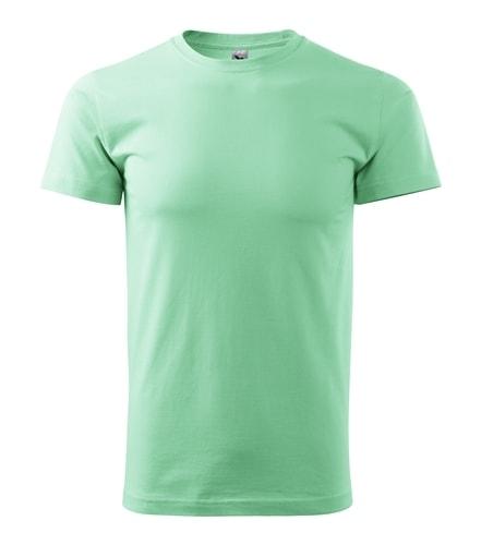 Pánské tričko HEAVY - Mátová | XL