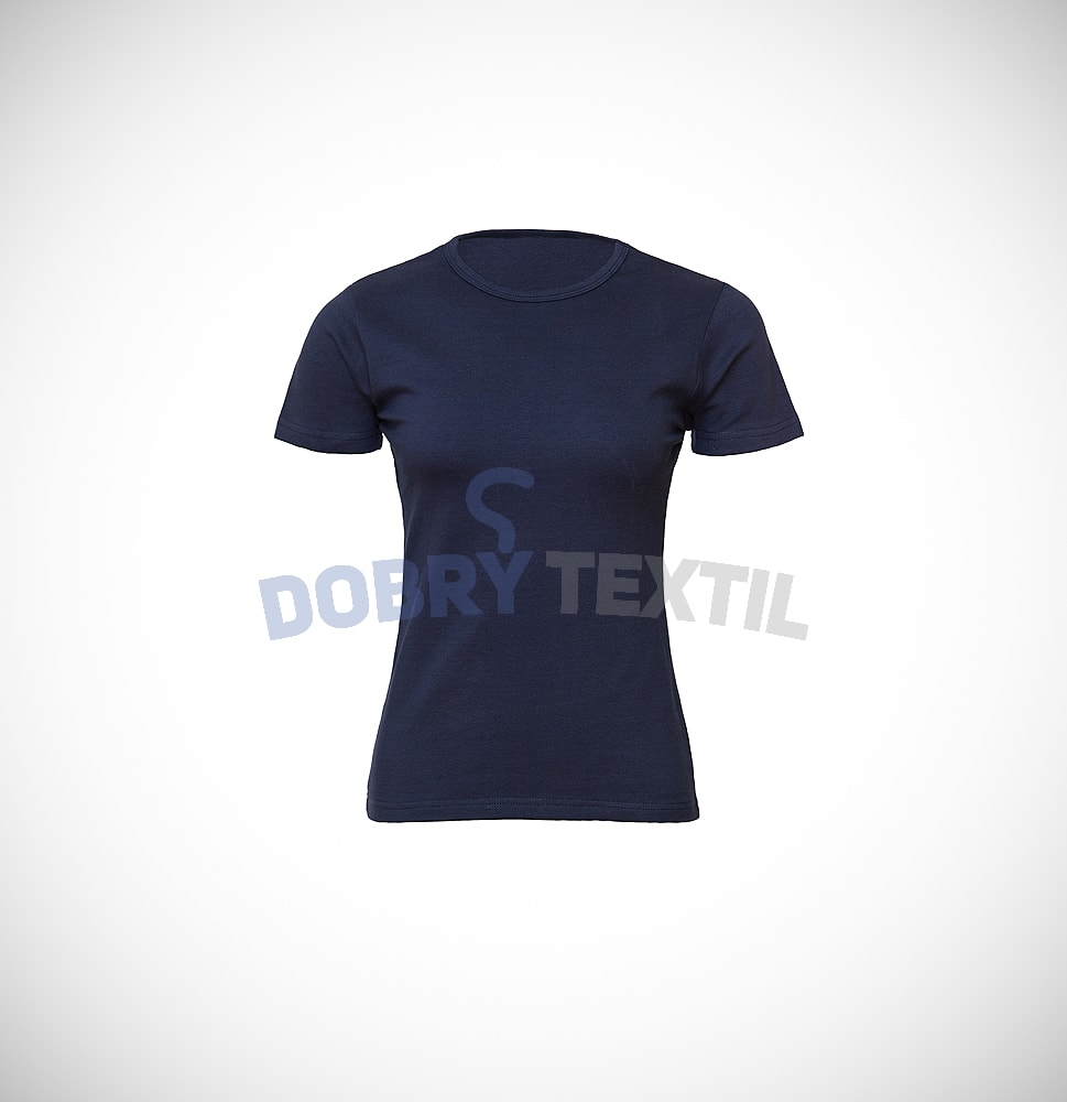 Dámské tričko ELAST - Tmavě modrá | L
