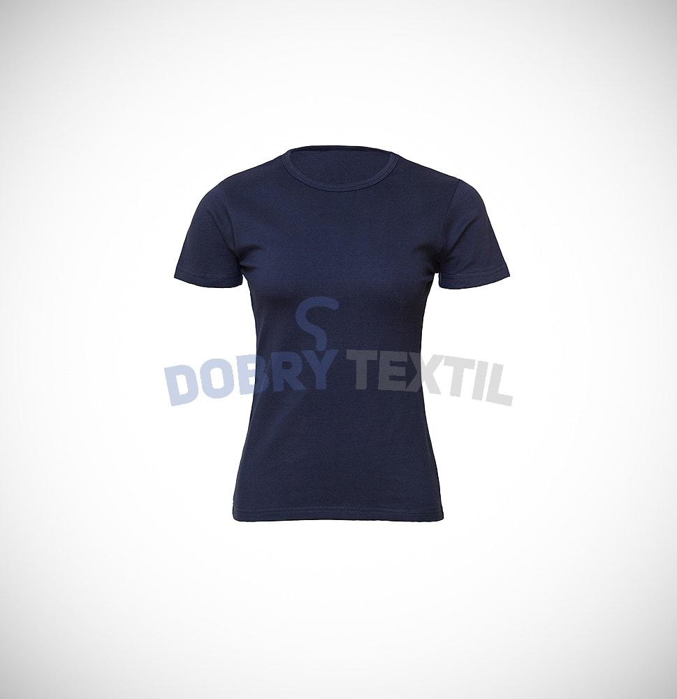 Dámské tričko ELAST - Tmavě modrá | XXL