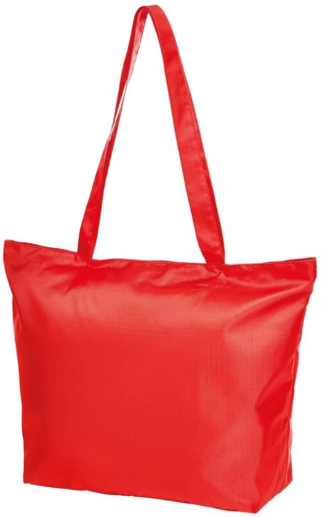 Skládací nákupní taška STORE - Červená