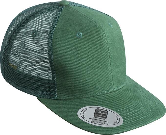 Kšiltovka s rovným kšiltem MB6509 - Tmavě zelená | uni