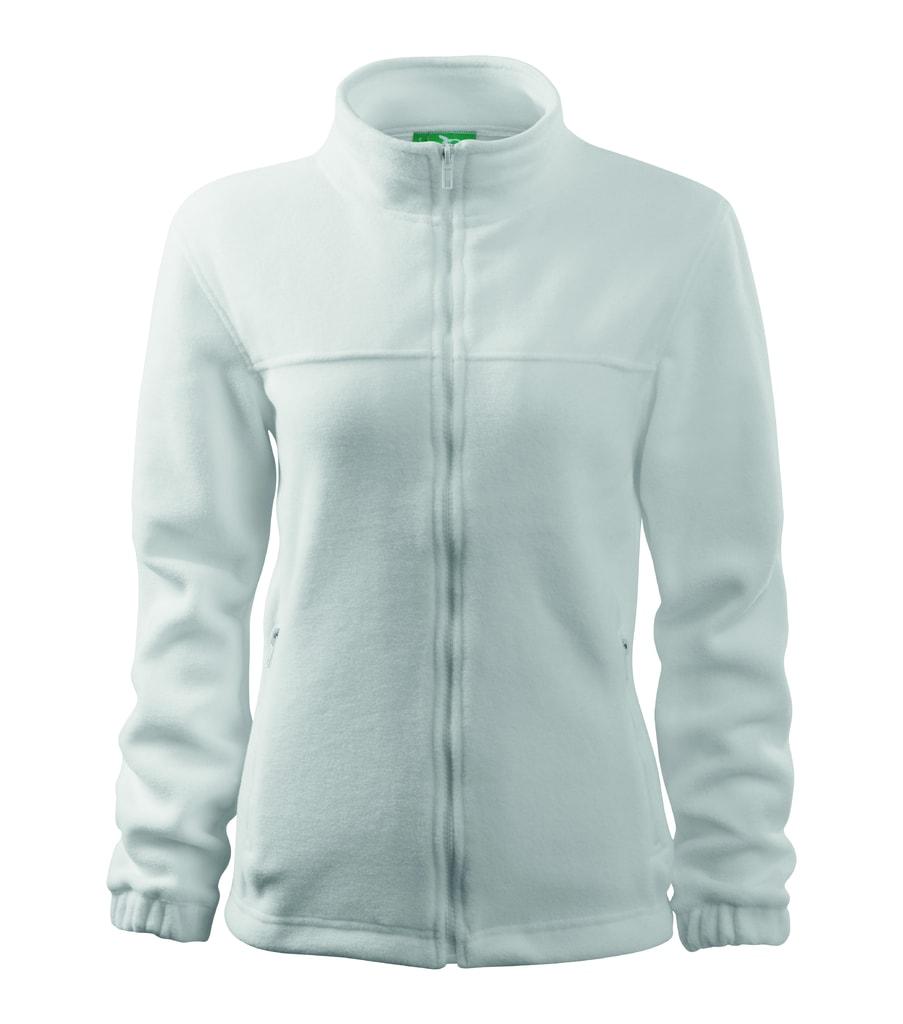Dámská fleecová mikina Jacket - Bílá | L